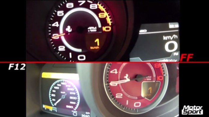 Ferrari F12 Vs FF