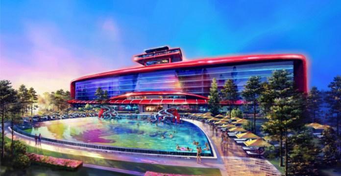 Ferrari land hotel