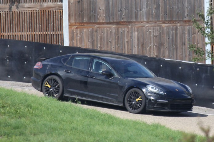 Porsche Panamera 2016 Spy Photos