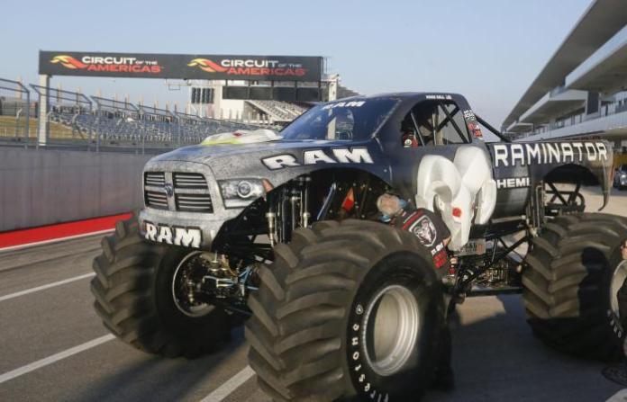 Raminator Monster Truck Guinness World Record (1)