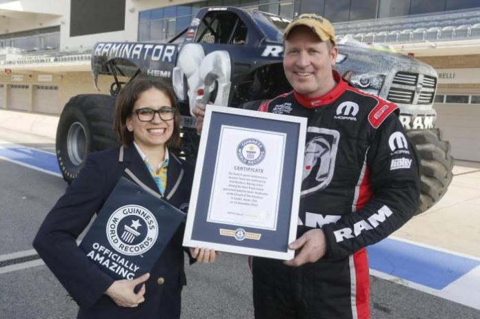 Raminator Monster Truck Guinness World Record (3)