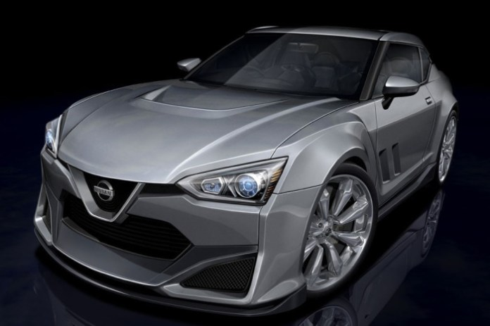 Nissan iDX production rendering