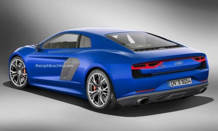 Audi R8 rendering