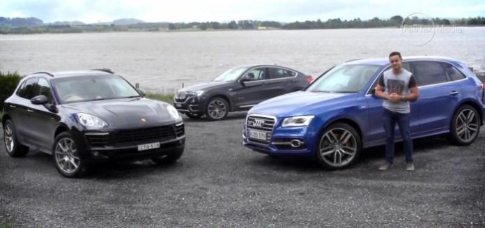 Audi SQ5 vs BMW X4 vs Porsche Macan