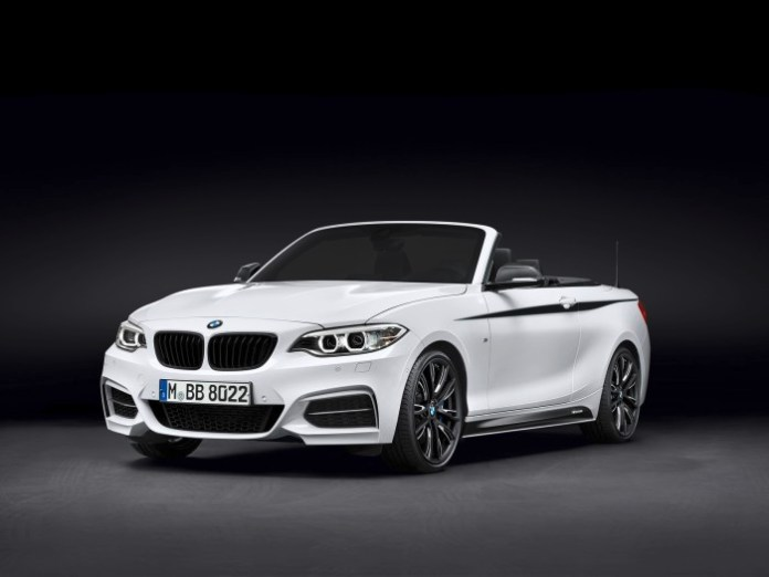 BMW 2-Series Convertible with M Performance parts (1)
