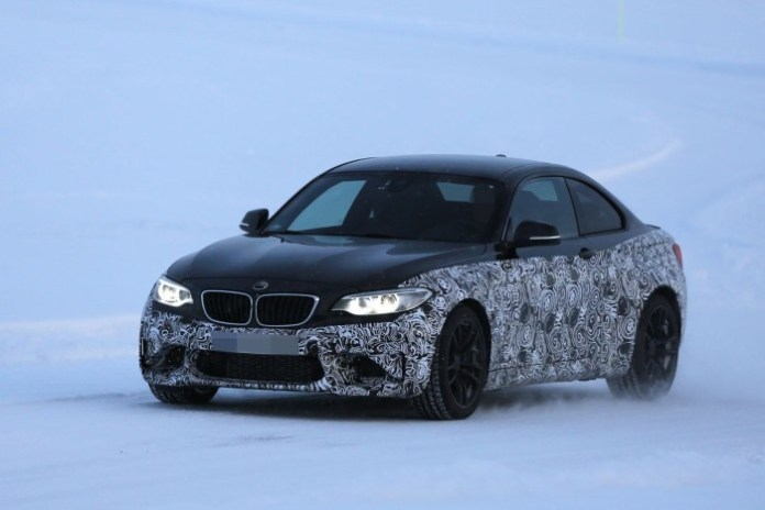 BMW M2 2016 spy photos (1)