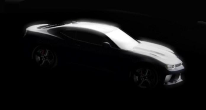 Chevrolet Camaro 2016 Teasers (3)