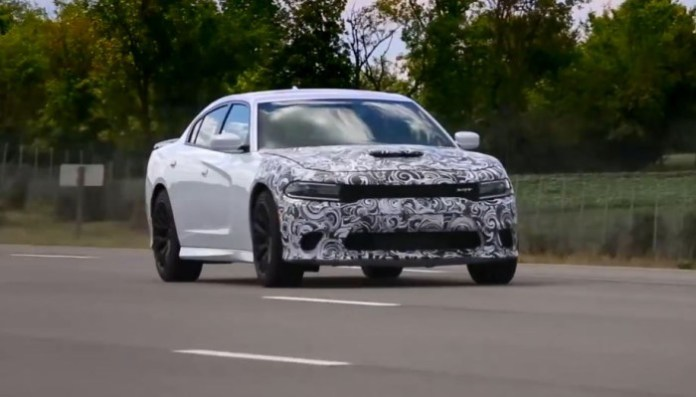 Dodge Charger SRT Hellcat High Speed Testing