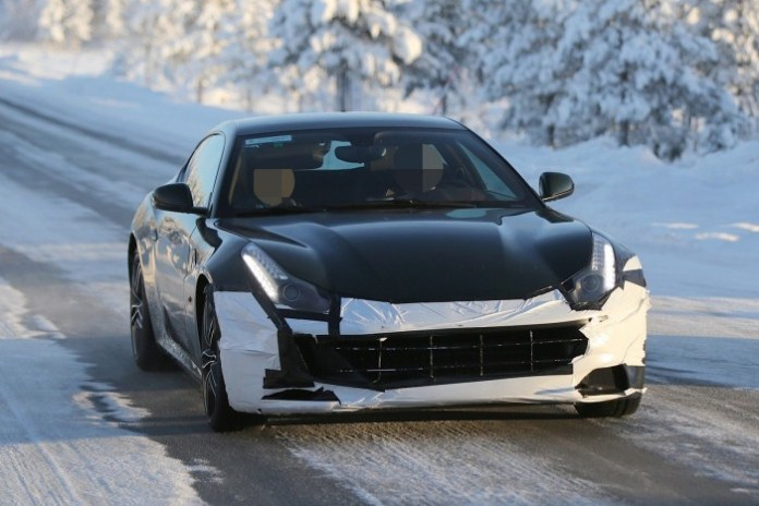 Ferrari FF Facelift 2016 Spy Photos (9)