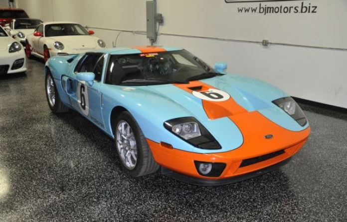 Ford GT Heritage limited edition 2006 for sale (17)