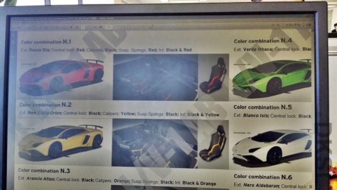 Lamborghini Aventador SuperVeloce brochure screenshot (1)