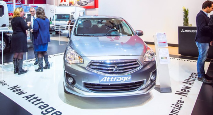 Mitsubishi-Attrage-European-Debut