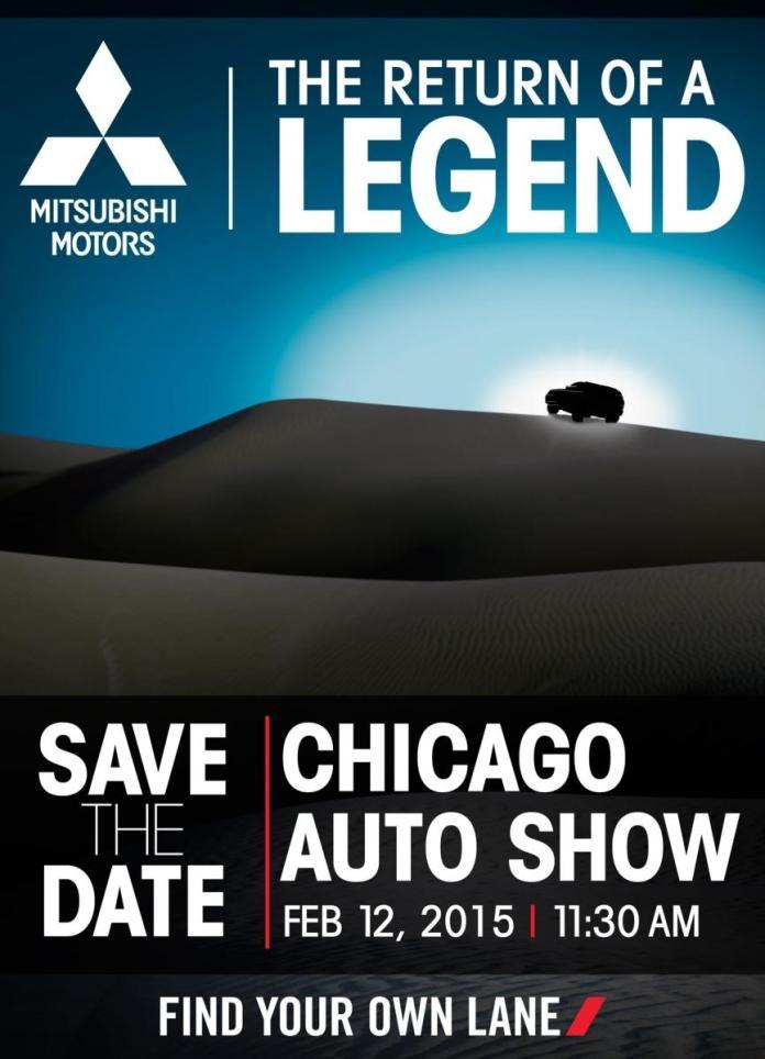Mitsubishi Chicago Auto Show teaser