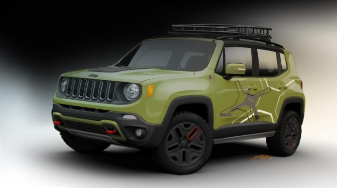 Off-road Mopar-equipped Jeep Renegade (1)