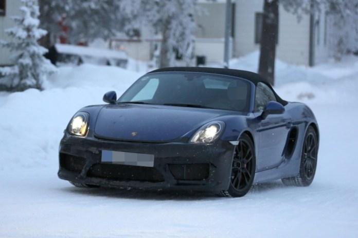 Porsche Boxster RS Spyder Spy Photos (2)