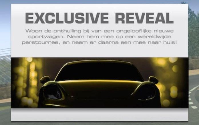 Porsche Cayman GT4 teaser Real Racing 3