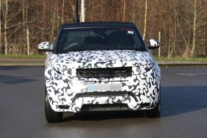 Range Rover Evoque Cabrio spy photos (1)