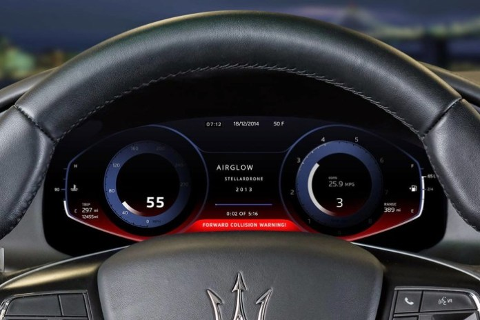 Virtual Maserati Instrument Panel by QNX (10)