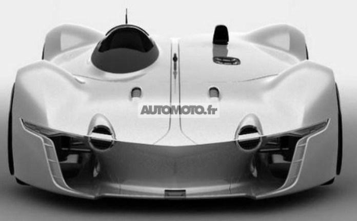 enault Alpine Vision Gran Turismo concept leaked photo 1
