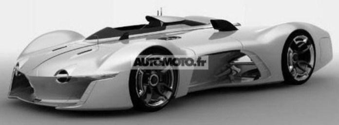 enault Alpine Vision Gran Turismo concept leaked photo 2