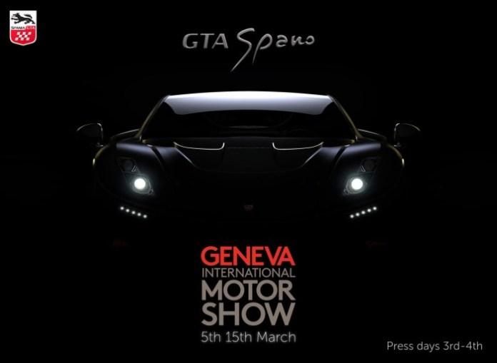 2015 GTA Spano teaser image