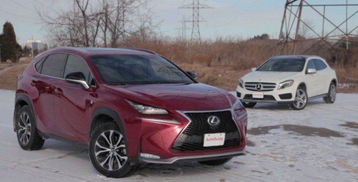 2015 Mercedes-Benz GLA250 vs 2015 Lexus NX200t