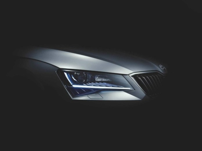 2015 Skoda Superb teaser