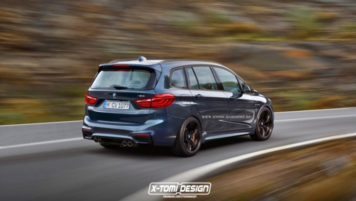 Bmw M2 Gran Tourer rear2