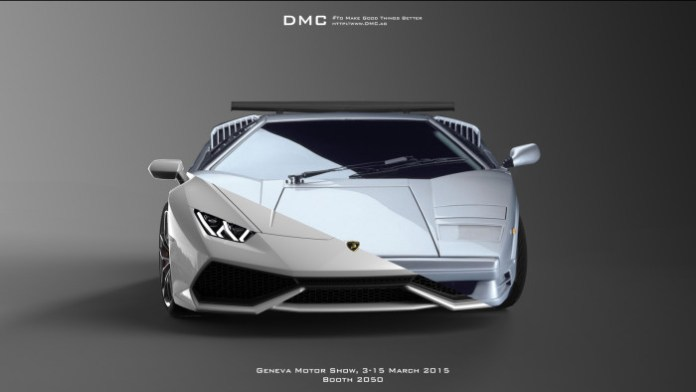 DMC teaser for Geneva Motor Show