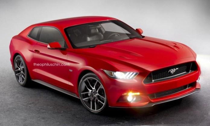 Ford Mustang hatchback rendering (2)