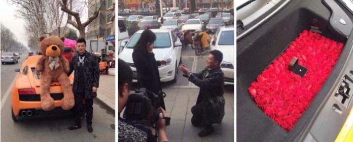 Gallardo wedding proposal