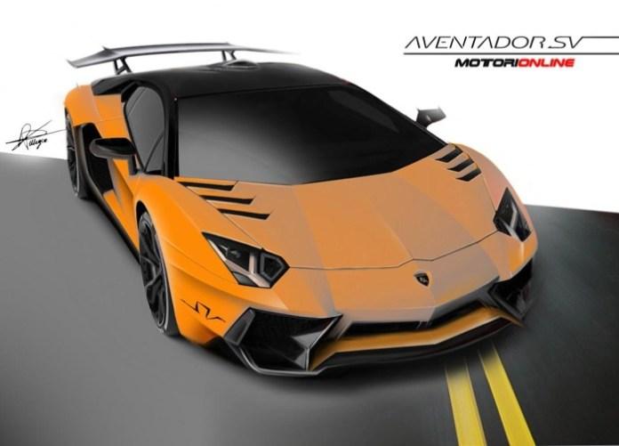 Lamborghini Aventador SuperVeloce renderings (1)