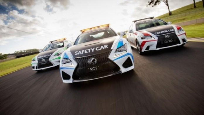 Lexus RC F Safety Car 1