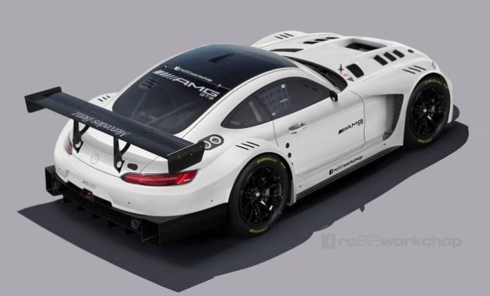Mercedes-AMG GT3 rendering