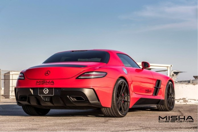 Mercedes-Benz SLS AMG by Misha Designs 7