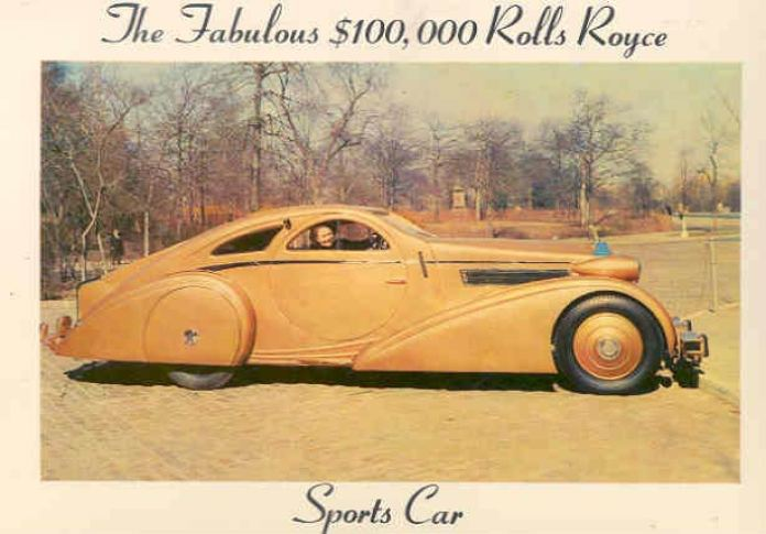 Rolls-Royce Phantom I Jonckheere Coupe (1932)