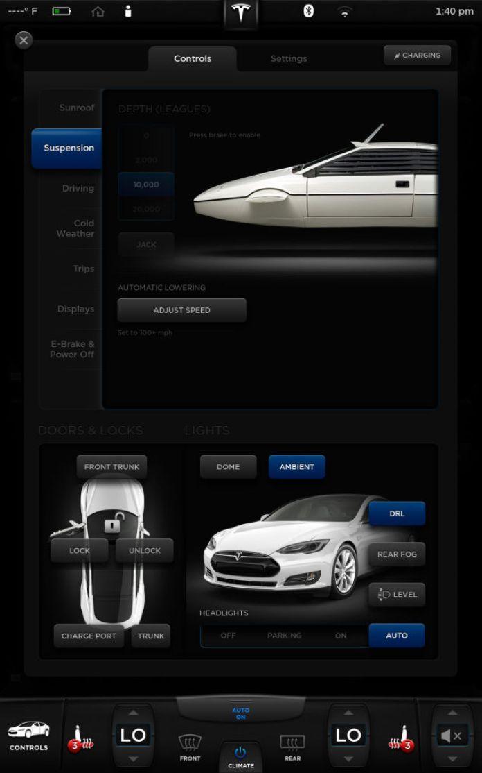 Tesla Model S Easter Egg (2)
