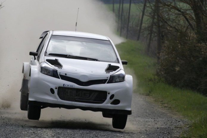 TMG Yaris WRC Test