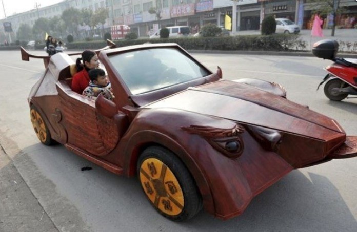 china Wooden Car (1)