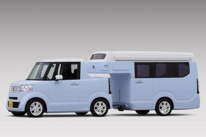honda n-truck and n-camp