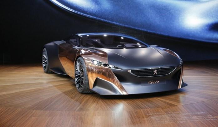 Peugeot Onyx Concept Live in Paris 2012
