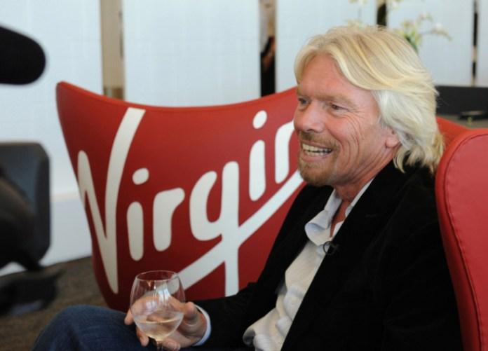 Virgin America Virgin Galantic aircraft at SFO Airport