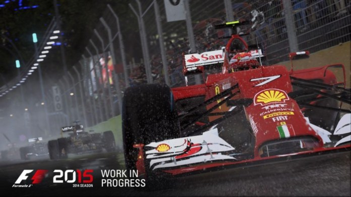 F1 2015 screen shot