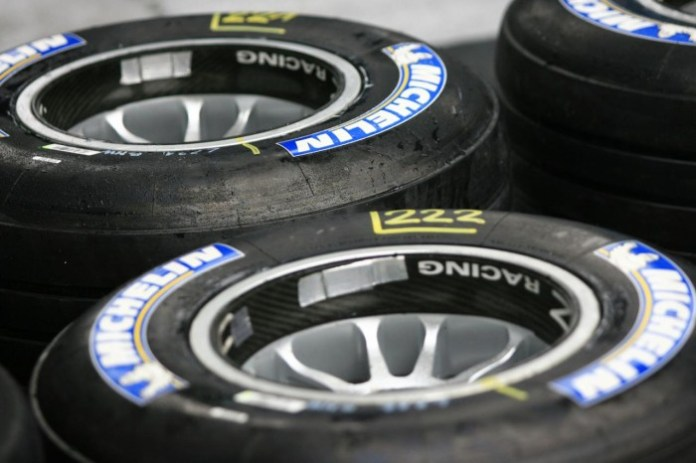 michelin f1 tyres