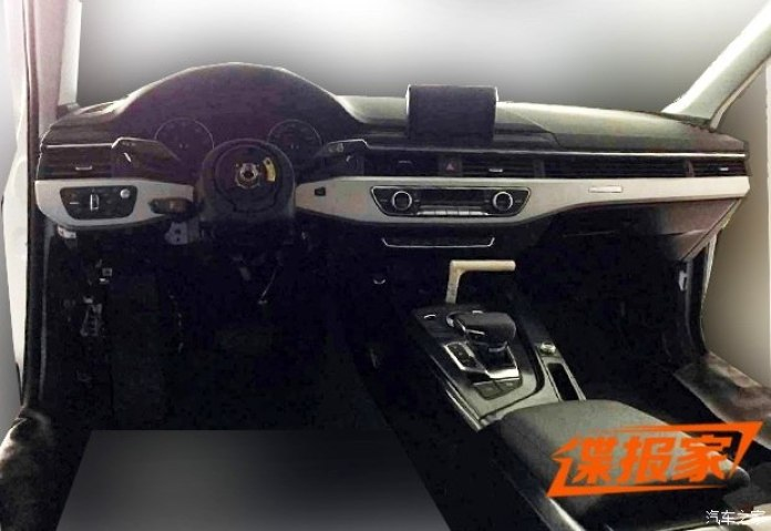 2016 Audi A4 spy photo (3)