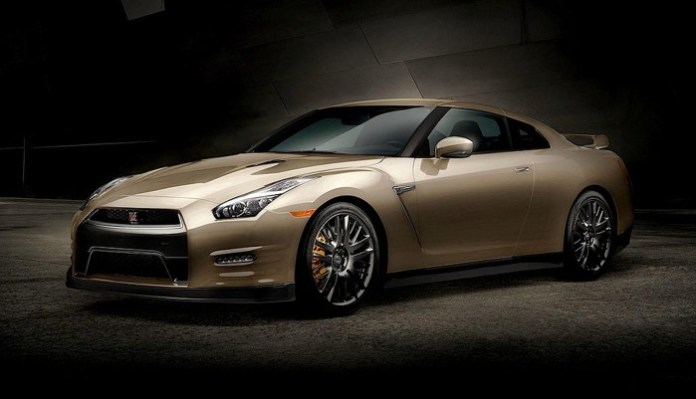 2016 Nissan GT-R 45th Anniversary Gold Edition 1