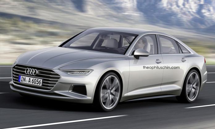 2017 Audi A6 rendering (1)