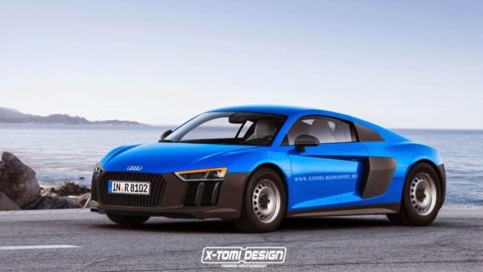 Audi R8 Base Spec front2