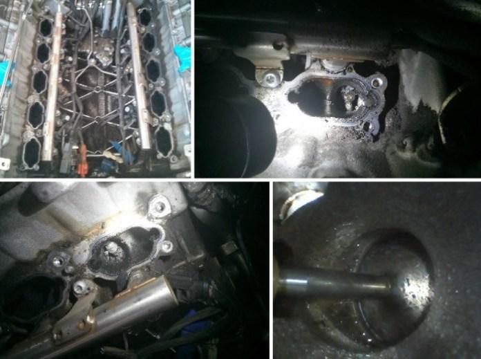 Audi S6 V10 engine Carbon Buildup