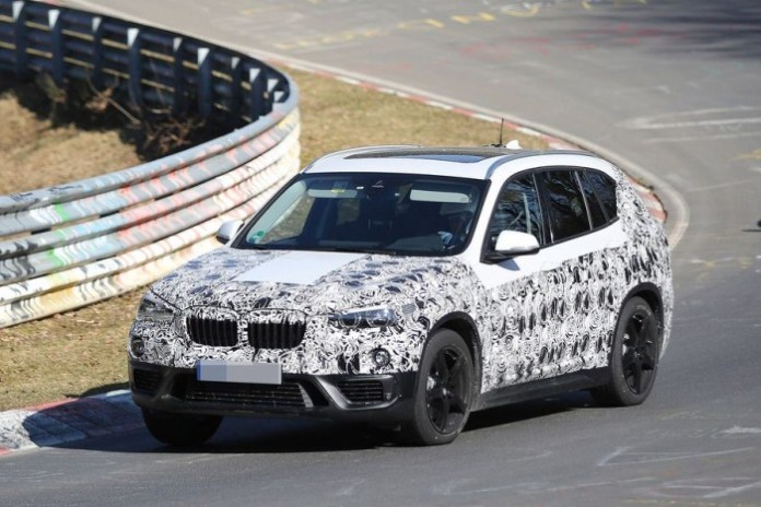 BMW X1 2016 spy photos (1)